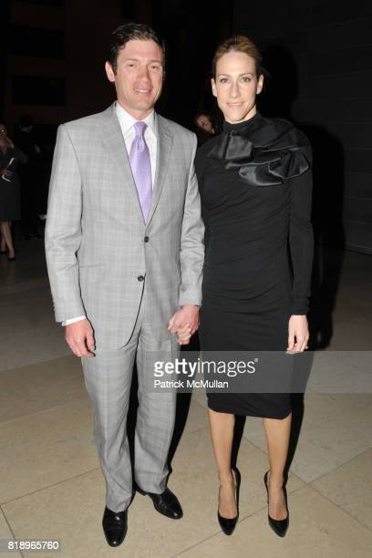 Glenn Fuhrman and Amanda Steck attend AMERICAN PATRONS of TATE Artists' Dinner at Hearst Tower on May 4th 2010 in New York City