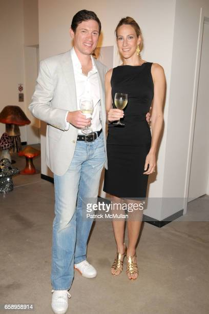 Glenn Fuhrman and Amanda Steck attend previewCRUSH 2009 for the ASPEN ART MUSEUM at Baldwin Gallery on August 6 2009 in Aspen CO