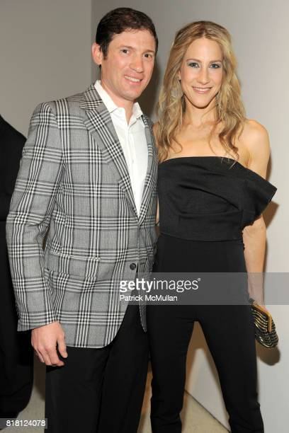 Glenn Fuhrmann and Amanda Fuhrman attend 2010 GUGGENHEIM International Gala at Solomon R Guggenheim Museum on November 8 2010 in New York City
