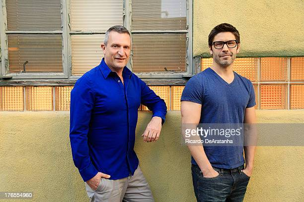Glenn Gaylord David Ross for are photographed Los Angeles Times on April 23 2013 in Los Angeles California PUBLISHED IMAGE CREDIT MUST READ Ricardo...