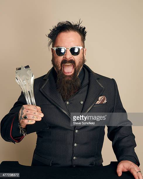 Glenn Hetrick poses for a portrait during the 5th Annual Critics' Choice Television Awards at The Beverly Hilton Hotel on May 31 2015 in Beverly...