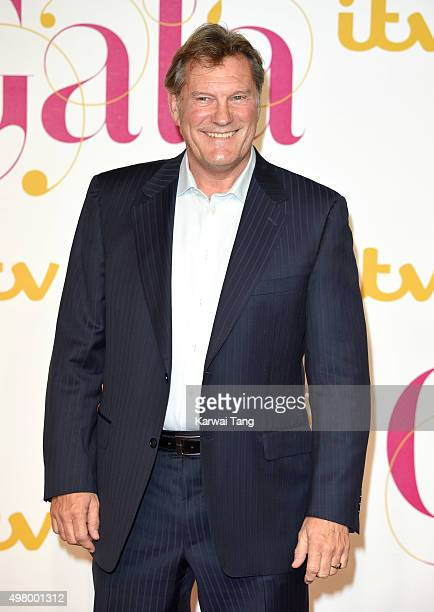 Glenn Hoddle attends the ITV Gala at London Palladium on November 19 2015 in London England