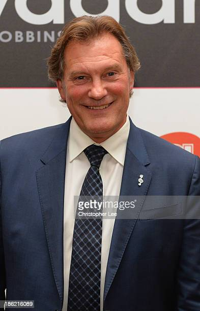 Glenn Hoddle during the Football Extravaganza at the Grosvenor House Hotel on October 29 2013 in London England