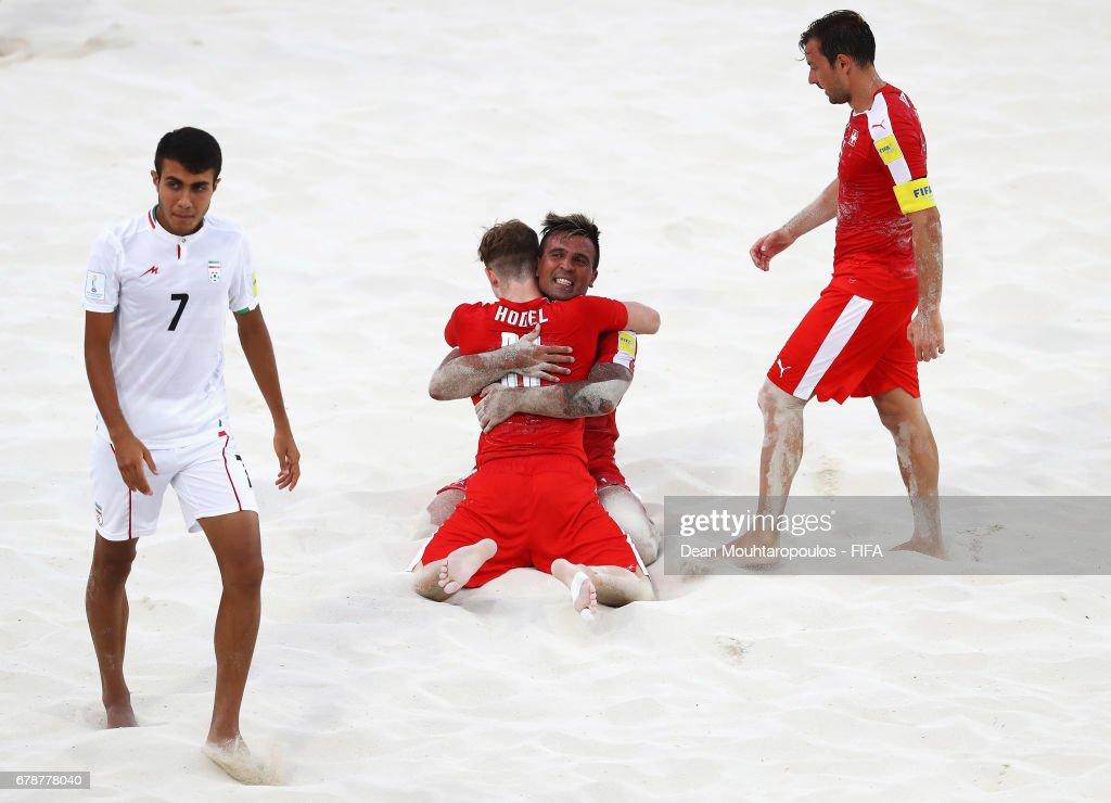 Switzerland v Iran - FIFA Beach Soccer World Cup Bahamas 2017 : ニュース写真