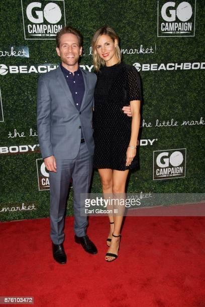 Glenn Howerton and Jill Howerton attend the 2017 GO Campaign Gala at NeueHouse Los Angeles on November 18 2017 in Hollywood California