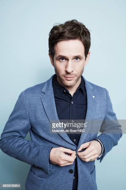 Glenn Howerton of 'AP Bio' poses for a photo during NBCUniversal Upfront Events Season 2017 Portraits Session at Ritz Carlton Hotel on May 15 2017 in...