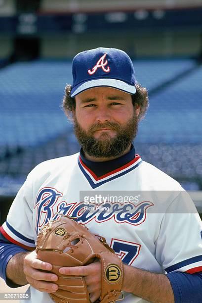 Glenn Hubbard of the Atlanta Braves poses for a portrait Glenn Hubbard played for the Atlanta Braves from 19791987