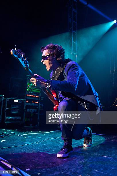 Glenn Hughes of Black Country Communion performs on stage at O2 Academy on July 26, 2011 in Leeds, United Kingdom.