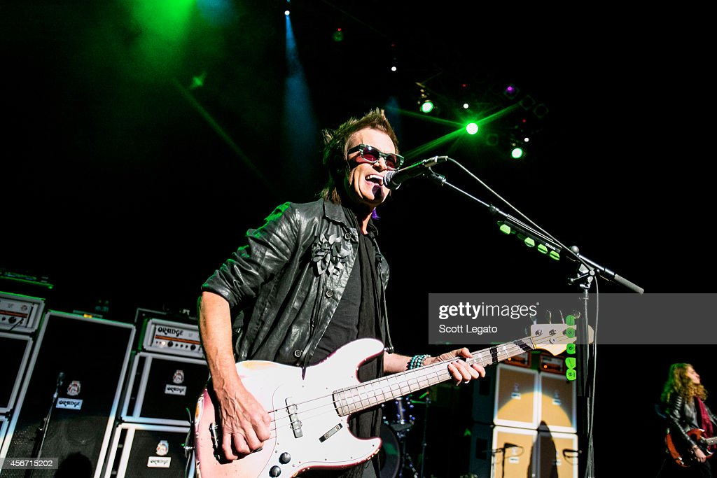 Glenn Hughes of California Breed performs at The Fillmore Detroit on October 5, 2014 in Detroit, Michigan.