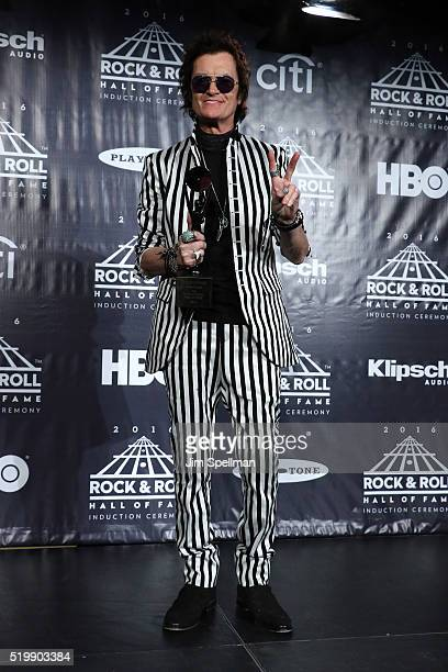 Glenn Hughes of Deep Purple attends the 31st Annual Rock And Roll Hall Of Fame Induction Ceremony at Barclays Center on April 8 2016 in New York City