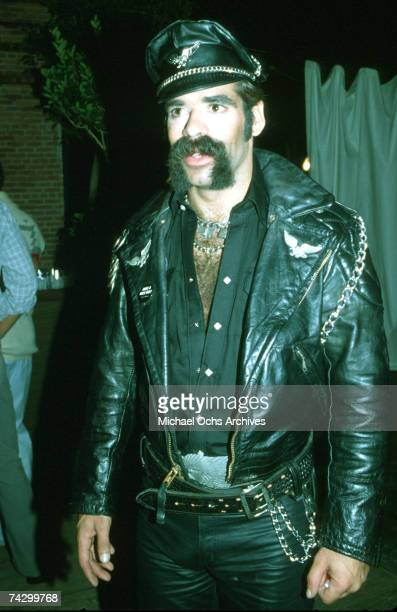 Glenn Hughes of The Village People poses for a photo circa 1980 in Los Angeles California