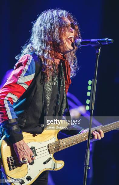 Glenn Hughes performs on stage at Nuevo Apolo Theatre on April 02 2019 in Madrid Spain