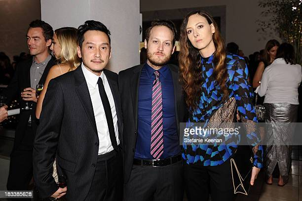 Glenn Kaino Aaron Sandnes and Maggie Kayne attend Hammer Museum 11th Annual Gala In The Garden With Generous Support From Bottega Veneta October 5...