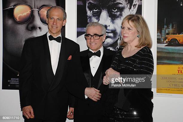 Glenn Lowry Martin Scorsese and Helen Morris attend THE MUSEUM OF MODERN ART MoMA Party in the Garden to honor Leon and Debra Black and Martin...