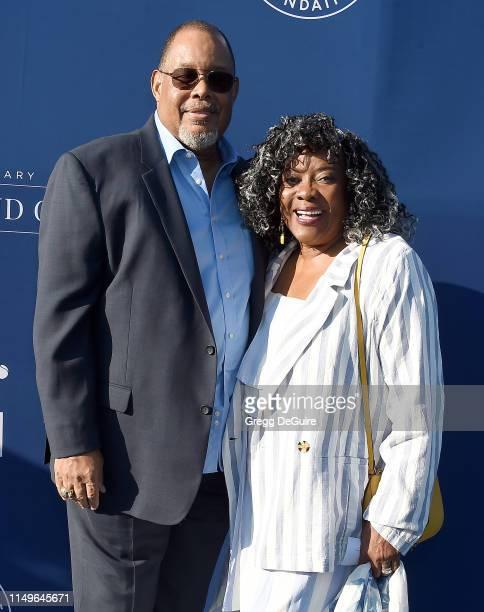 Glenn Marshall and Loretta Devine arrive at the 5th Annual Blue Diamond Foundation at Dodger Stadium on June 12, 2019 in Los Angeles, California.