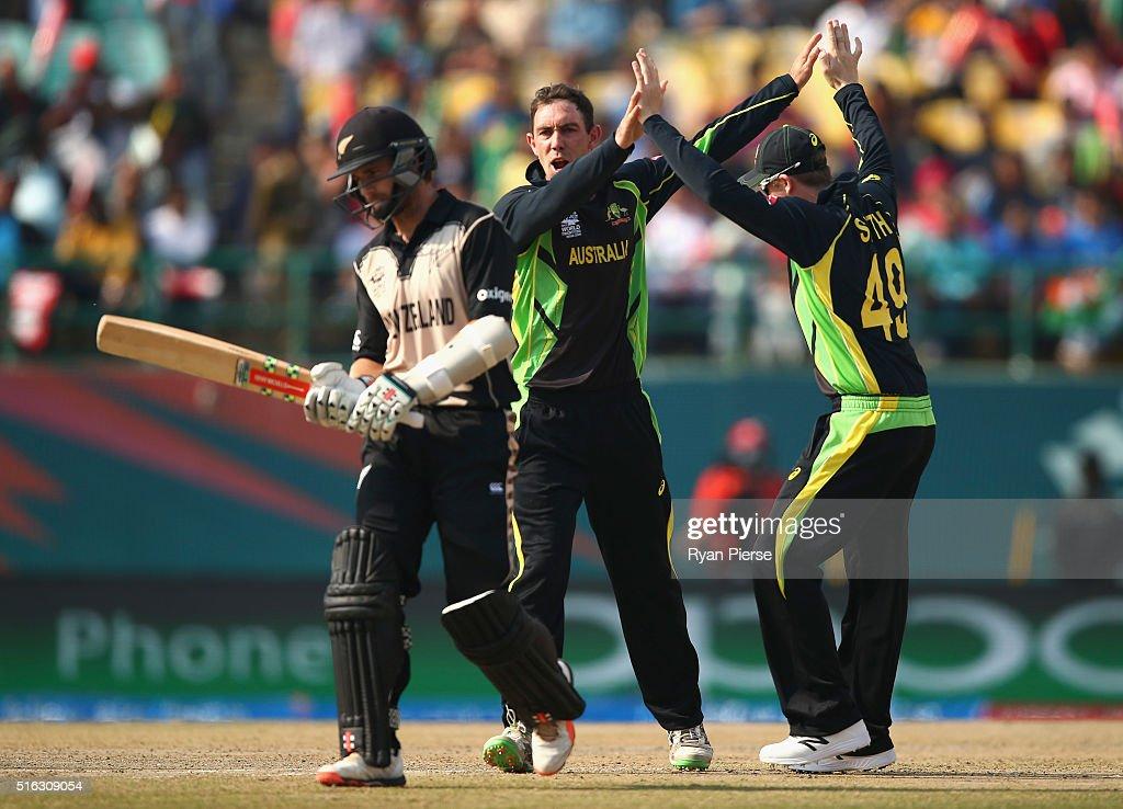 ICC World Twenty20 India 2016: Australia v New Zealand