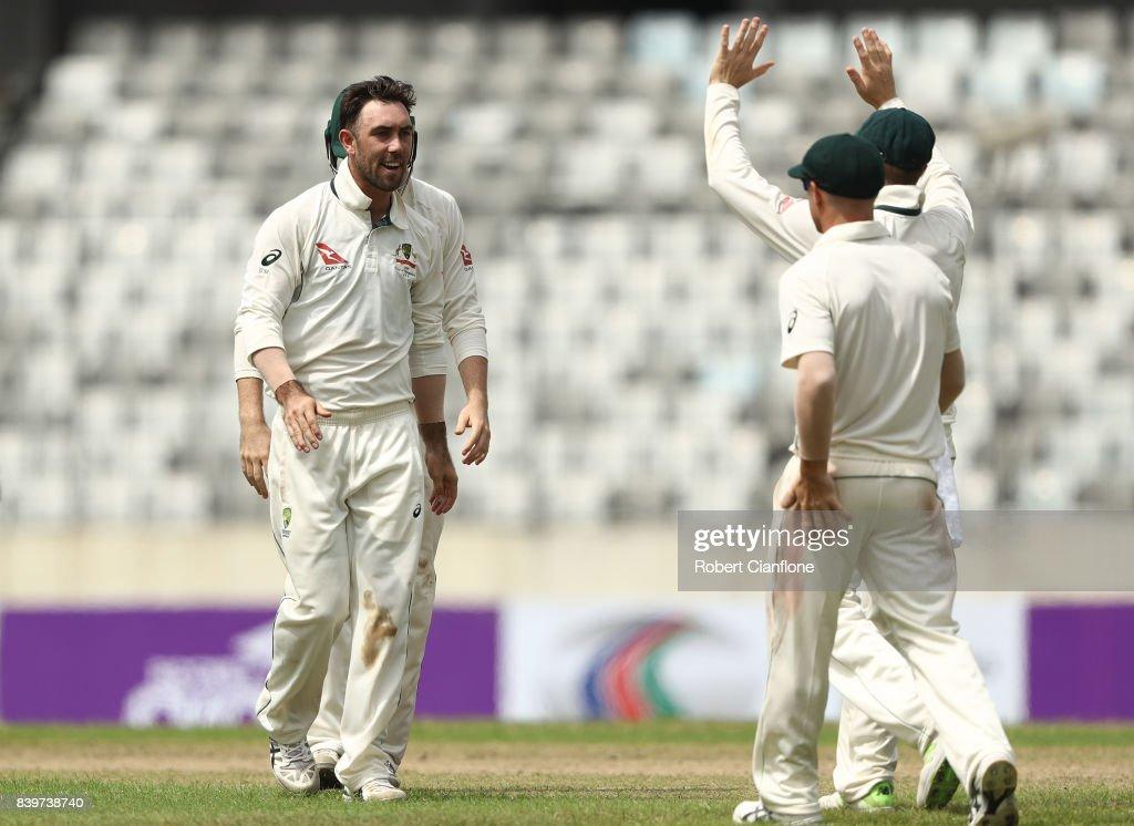 Bangladesh v Australia - 1st Test: Day 1 : News Photo