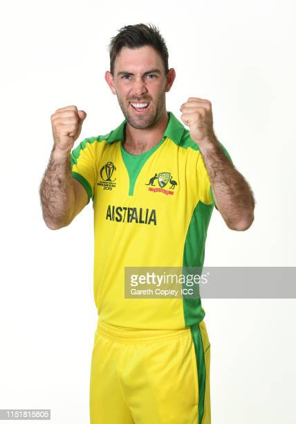 Glenn Maxwell of Australia poses for a portrait prior to the ICC Cricket World Cup 2019 at on May 26 2019 in Southampton England