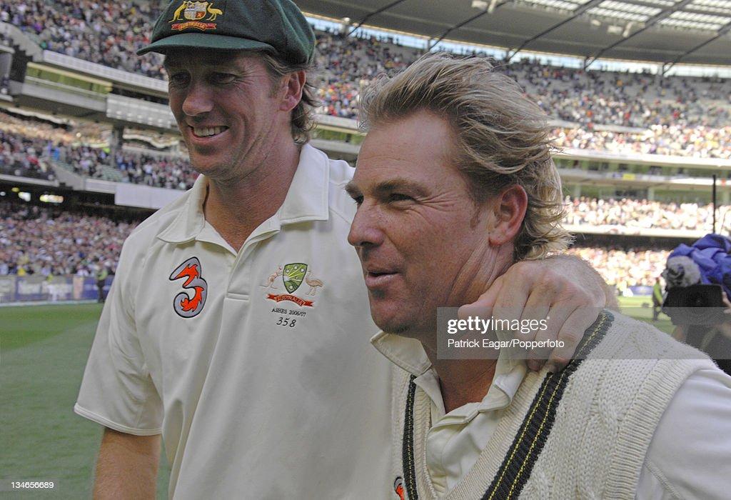 Australia v England, 4th Test, Melbourne, Dec 06 : ニュース写真