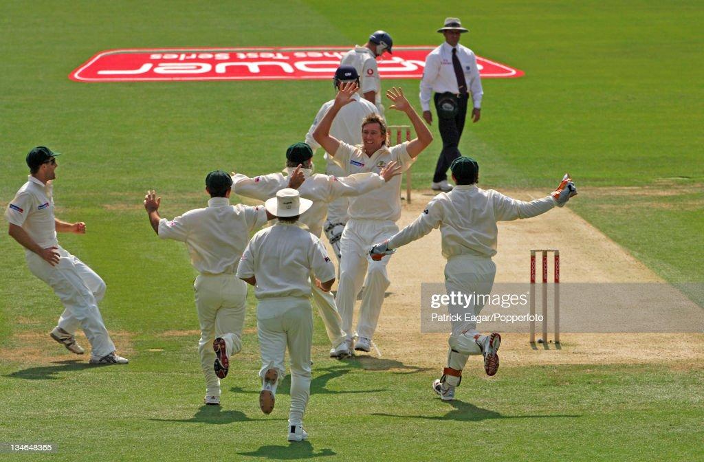 England v Australia, 1st Test, Lord's, Jul 05 : News Photo