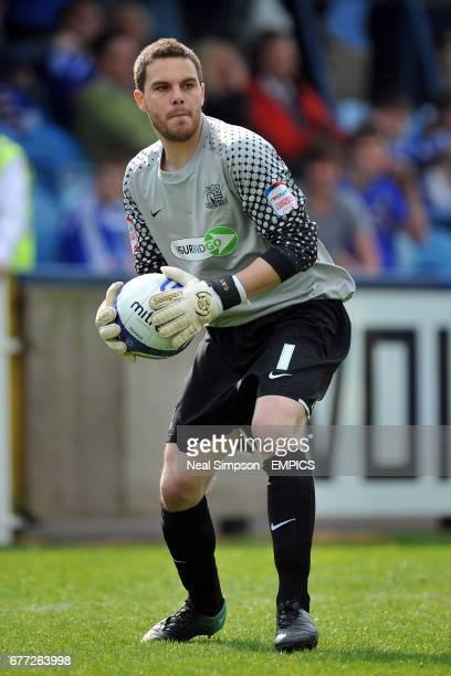 Glenn Morris Southend United goalkeeper