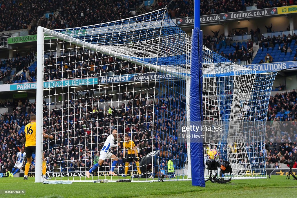 Brighton & Hove Albion v Wolverhampton Wanderers - Premier League : News Photo