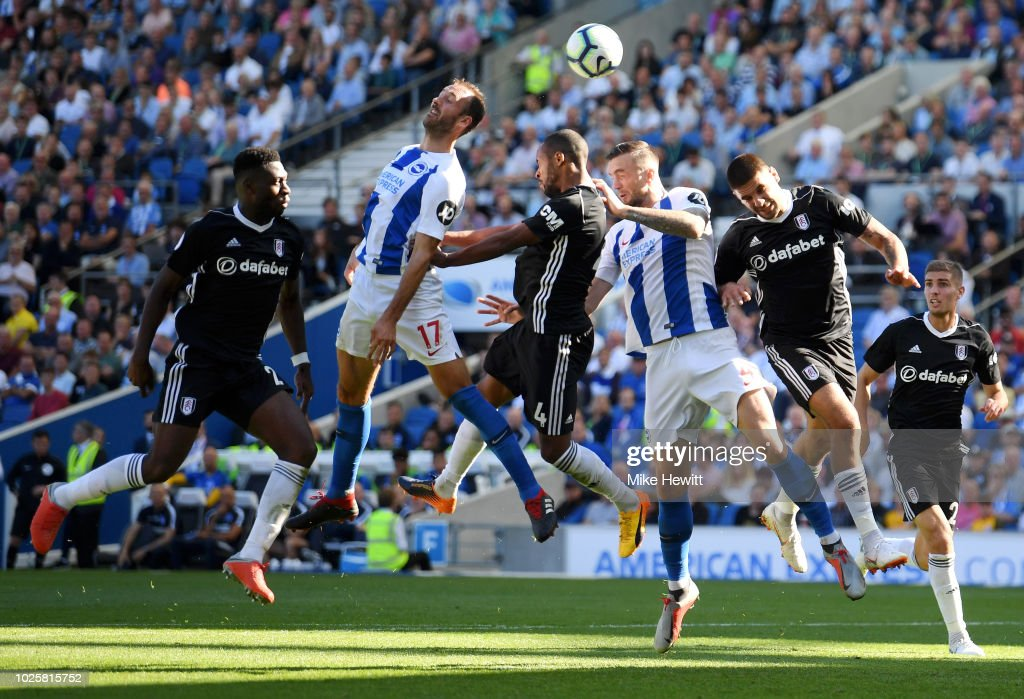 Brighton & Hove Albion v Fulham FC - Premier League : News Photo