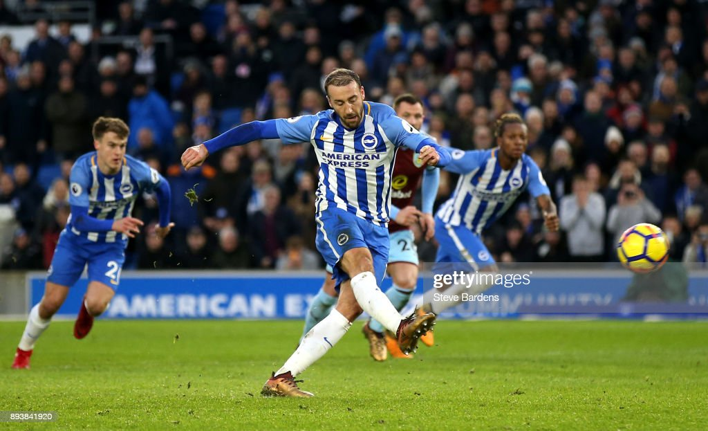 Brighton and Hove Albion v Burnley - Premier League