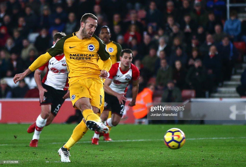 Southampton v Brighton and Hove Albion - Premier League : News Photo