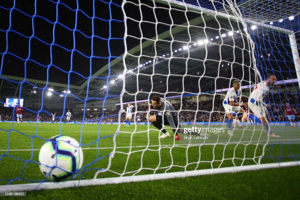 Brighton & Hove Albion v West Ham United - Premier League : News Photo