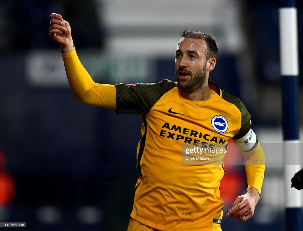 West Bromwich Albion v Brighton & Hove Albion - FA Cup Fourth Round Replay : News Photo
