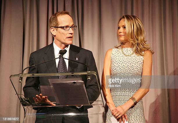 Glenn R Dubin and Dr Eva AnderssonDubin attend the opening of Dubin Breast Center at the Tisch Cancer Institute at Mount Sinai Hospital on April 6...
