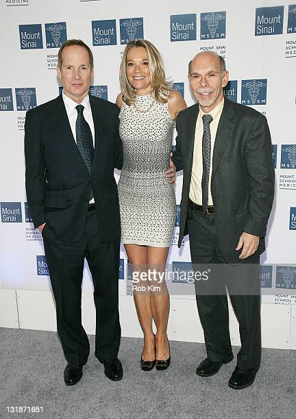 Glenn R Dubin Dr Eva AnderssonDubin and Dr Kenneth L Davis attend the opening of Dubin Breast Center at the Tisch Cancer Institute at Mount Sinai...