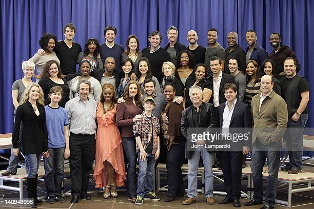 Glenn Slater Warren Leight Alan Menken Leslie Odom Jr Christopher Ashley Kecia LewisEvans Jessica Phillips Talon Ackerman Raul Esparza Kendra...