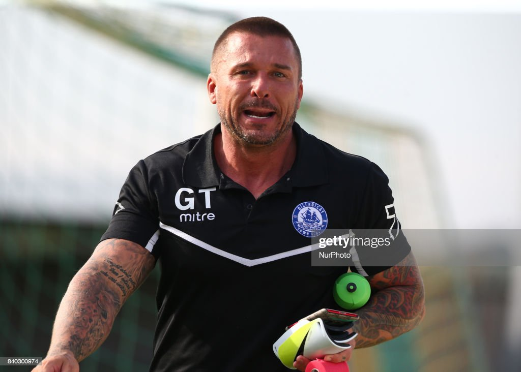 Glenn Tamplin manager of Billericay Town during Bostik League Premier Division match between Thurrock vs Billericay Town at Ship Lane Ground, Aveley on 28 August 2017