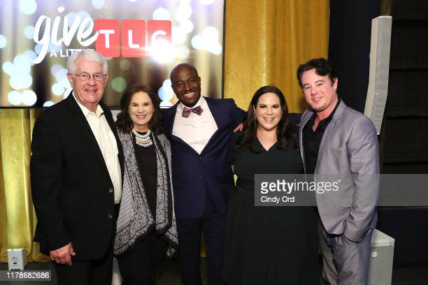 Glenn Thore Babs Thore Taye Diggs Whitney Thore and Hunter Thore attend TLC's Give A Little Awards 2019 on October 02 2019 in New York City