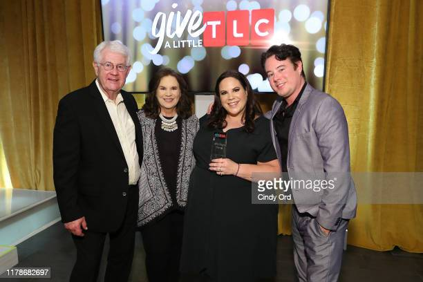 Glenn Thore Babs Thore Whitney Thore and Hunter Thore attend TLC's Give A Little Awards 2019 on October 02 2019 in New York City