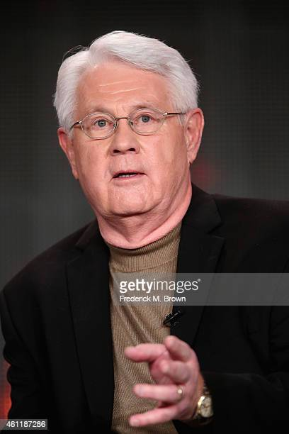 Glenn Thore speaks onstage during TLC's 'My Big Fat Fabulous Life' panel at Discovery Communications' 2015 Winter Television Critics Association...
