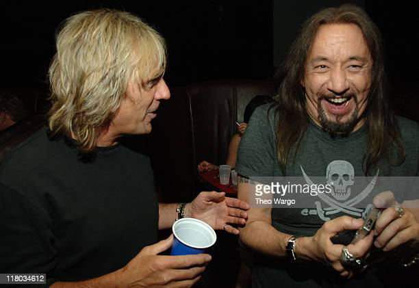 Glenn Tipton of Judas Priest and Ace Frehley of KISS