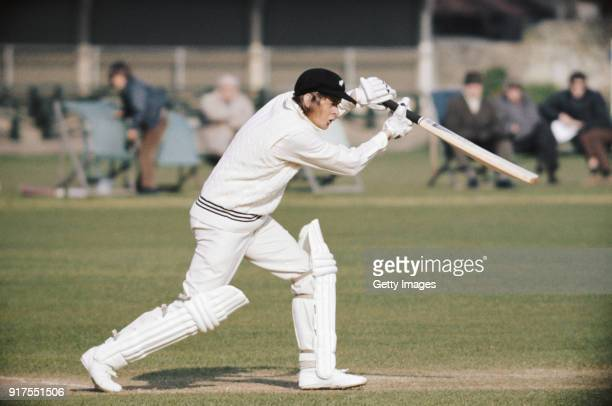 Glenn Turner batting for New Zealand during the World Cup warmup match between New Zealand and Sri Lanka at The Saffrons Eastbourne 31st May 1975