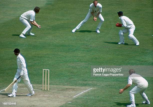 Glenn Turner is caught by Tony Greig off Geoff Arnold for 4 2nd Test England v New Zealand Lord's June 1973 E732020