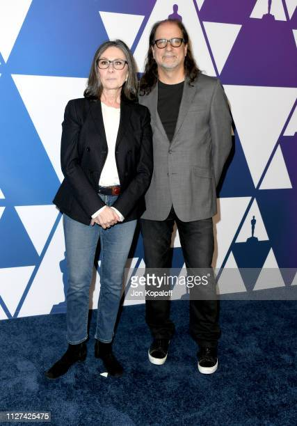 Glenn Weiss and Donna Gigliotti attend the 91st Oscars Nominees Luncheon at The Beverly Hilton Hotel on February 04 2019 in Beverly Hills California