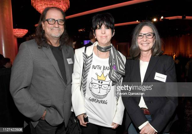 Glenn Weiss Diane Warren and Donna Gigliotti attend the 91st Oscars Nominees Luncheon at The Beverly Hilton Hotel on February 04 2019 in Beverly...