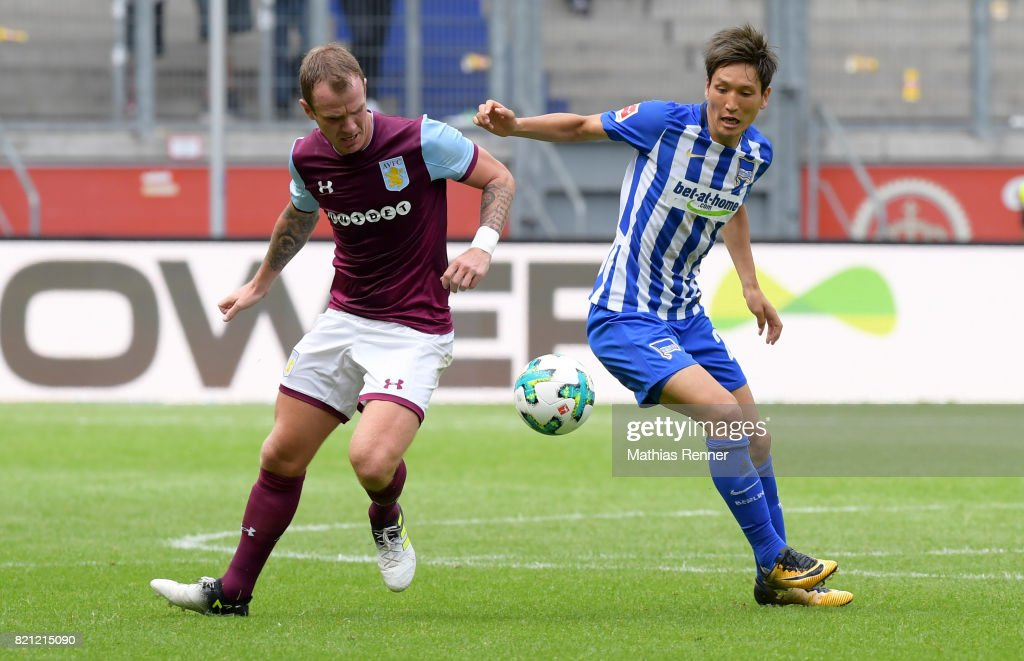 Aston Villa v Hertha BSC - schauinsland reisen Cup der Traditionen : News Photo