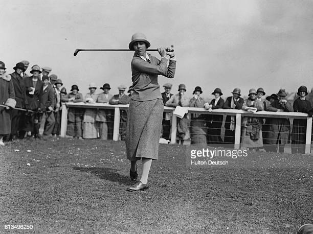 Glenna Collet Competing at the Ladies Golf Championship