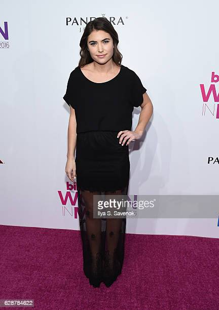 Glenne Christiaansen attends Billboard Women In Music 2016 airing December 12th On Lifetime at Pier 36 on December 9 2016 in New York City