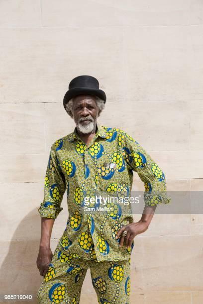 Glennford Griffiths at Windrush Square to celebrate the 70th anniversary of the arrival of the passenger liner Empire Windrush and the men and women...