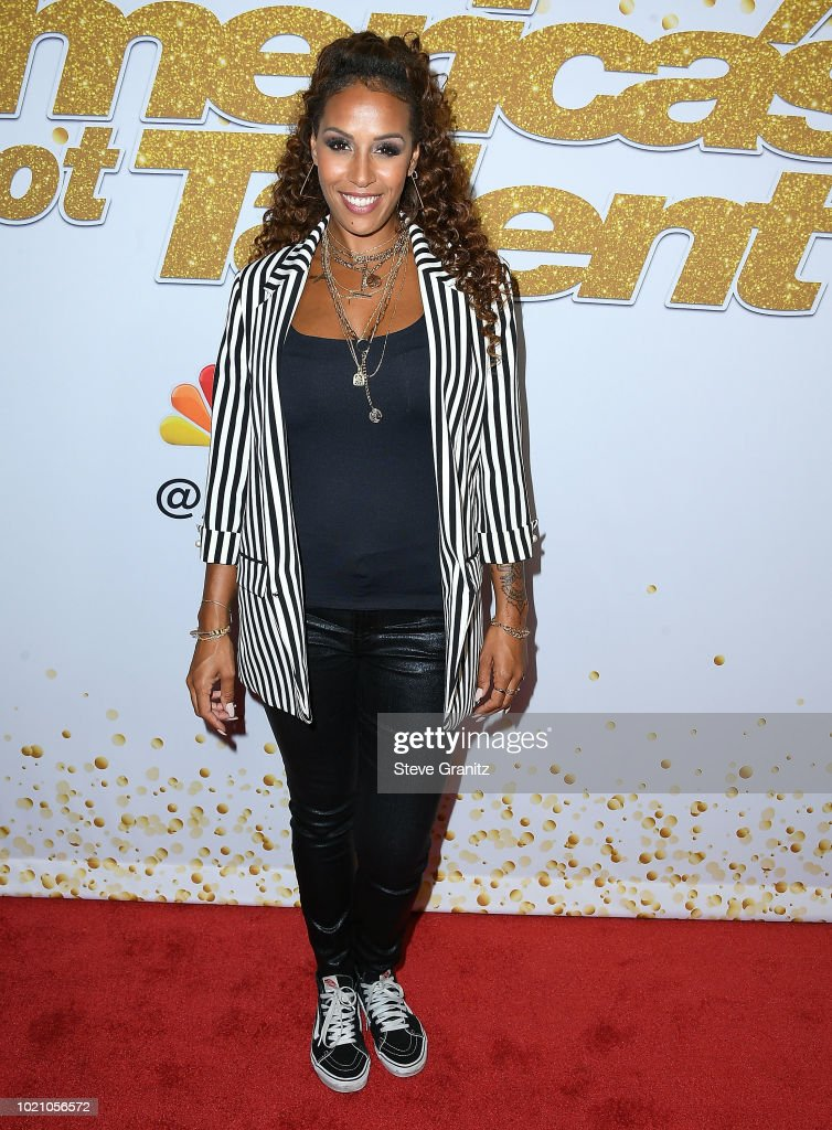 Glennis Grace arrives at Americas Got Talent Season 13