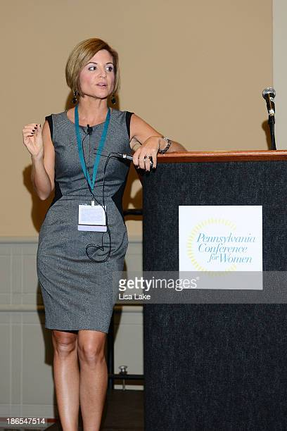 Glennon Doyle Melton speaks onstage at the Pennsylvania Conference For Women 2013 at Philadelphia Convention Center on November 1 2013 in...