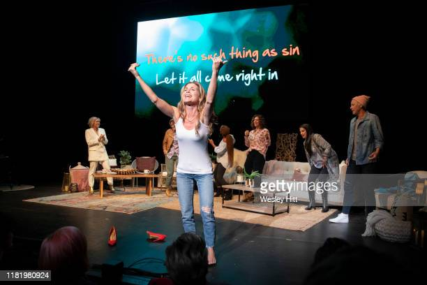 Glennon Doyle on stage at Together Live at Walton Arts Center on October 18, 2019 in Fayetteville, Arkansas.